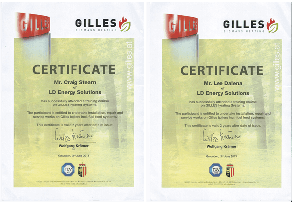 Gilles Biomass Heating Installtion & Repair | Essex | East Anglia | LD Energy Solutions